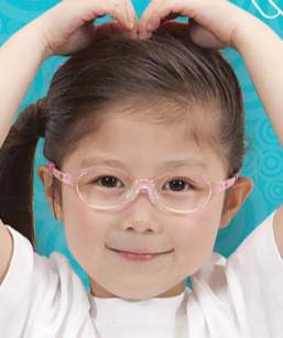 Glasses for children with Down syndrome